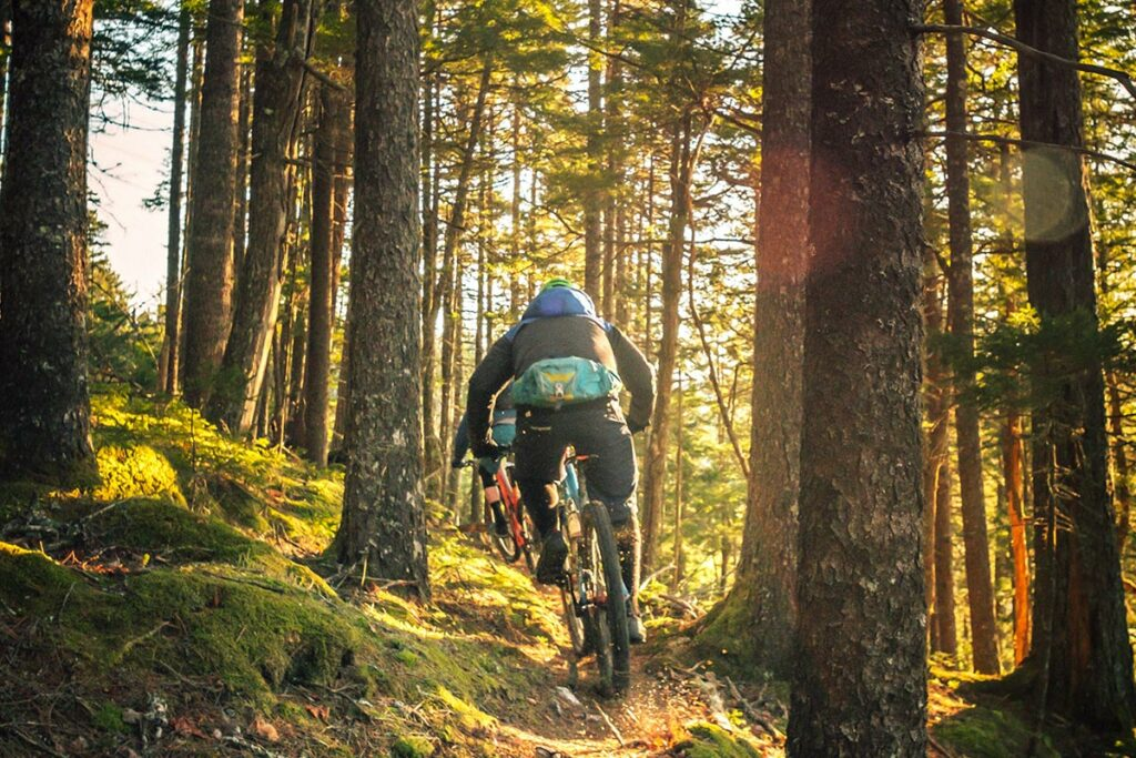 Fahrrad fahren, National Park, Urlaub